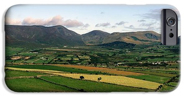 Mountain iPhone Cases - Mourne Mountains, Co. Down, Ireland iPhone Case by The Irish Image Collection