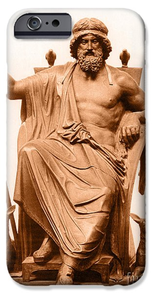 Odin, Norse God iPhone Case by Photo Researchers