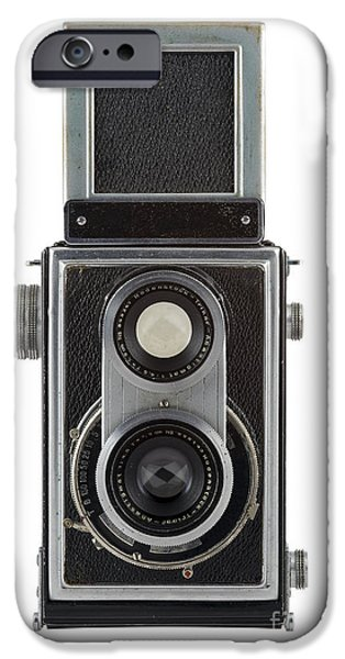 Aperture Photographs iPhone Cases - Old Camera iPhone Case by Michal Boubin