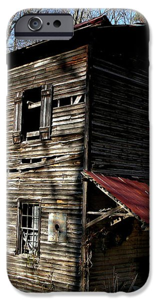 Old Grist Mill iPhone Case by Paul Mashburn