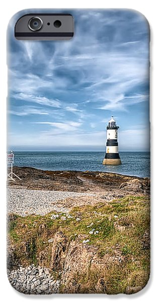 Penmon Point iPhone Case by Adrian Evans