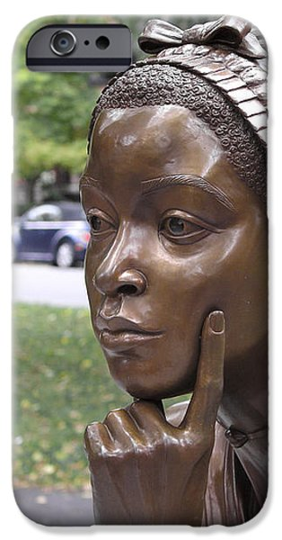 PHILLIS WHEATLEY iPhone Case by Granger