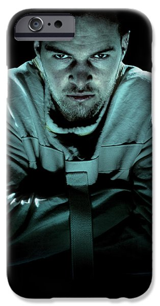 Psychiatric Patient iPhone Case by Kevin Curtis