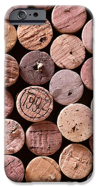 Red Wine Corks iPhone Case by Frank Tschakert