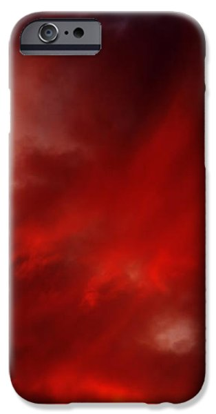 rosy sky iPhone Case by Michal Boubin