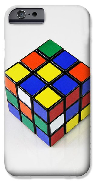 Rubiks Cube iPhone Cases - Rubiks Cube iPhone Case by Photo Researchers, Inc.