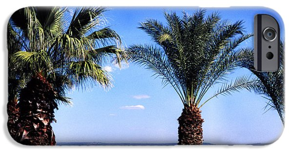 Loaves And Fish iPhone Cases - Sea of Galilee from  Mount of the Beatitudes iPhone Case by Thomas R Fletcher