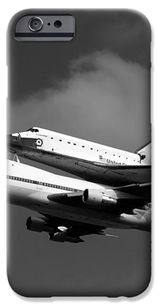 Shuttle Endeavour iPhone Case by Jason Smith