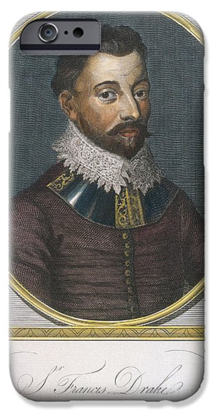 Sir Francis Drake, English Explorer iPhone Case by Photo Researchers