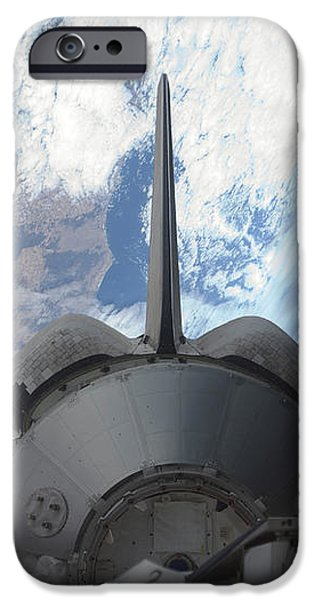 Space Shuttle Endeavours Payload Bay iPhone Case by Stocktrek Images