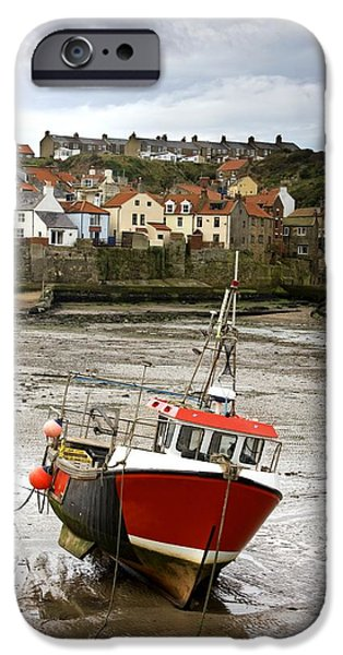 Staithes, North Yorkshire, England iPhone Case by John Short