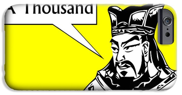 Warrior iPhone Cases - Sun Tzu iPhone Case by War Is Hell Store