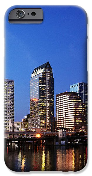 Tampa Skyline iPhone Case by Skip Nall