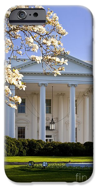 White House iPhone Cases - The White House iPhone Case by Brian Jannsen