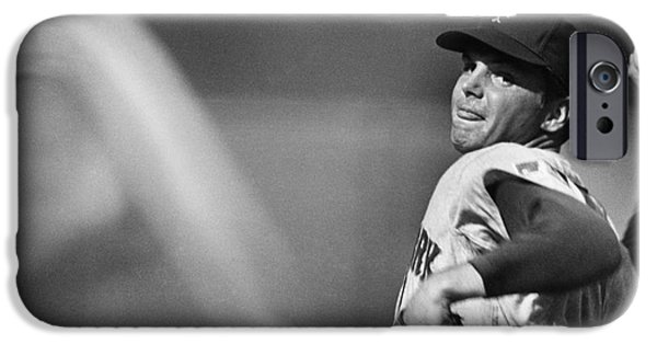 Pitchers Glove iPhone Cases - Tom Seaver (1944- ) iPhone Case by Granger