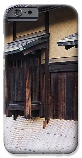 Traditional Japanese House iPhone Case by Jeremy Woodhouse