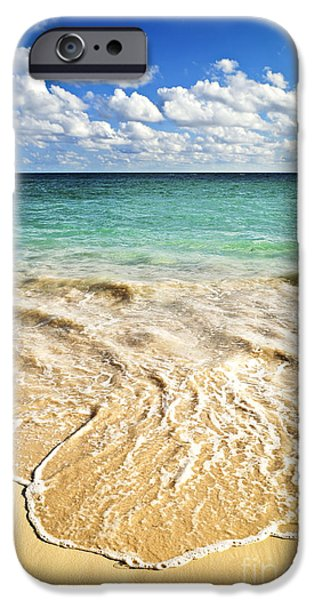 Best Sellers -  - Beach Landscape iPhone Cases - Tropical beach  iPhone Case by Elena Elisseeva