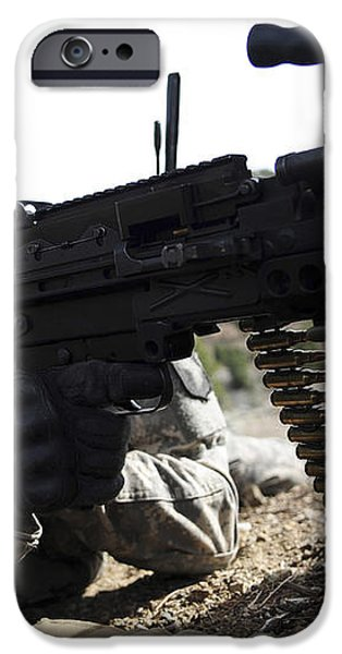 U.s. Army Soldier Provides Security iPhone Case by Stocktrek Images