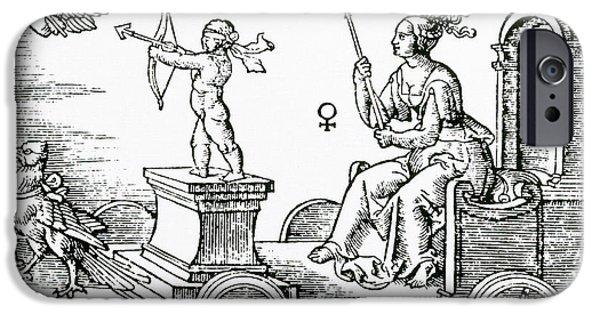 Greek Goddesses iPhone Cases - Venus, Roman Goddess Of Love iPhone Case by Photo Researchers