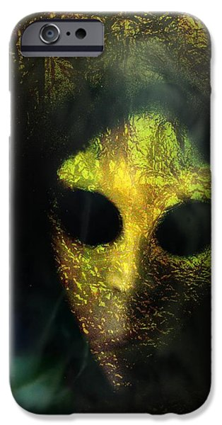 Goul iPhone Cases - Visitor iPhone Case by Shirley Sirois