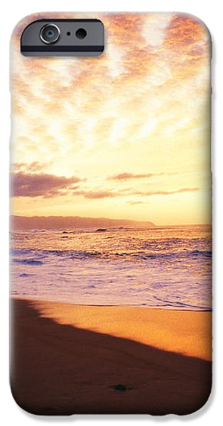 Waimea Bay Sunset iPhone Case by Bob Abraham - Printscapes