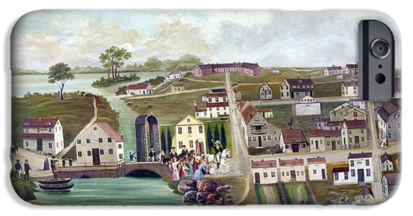 Patriots iPhone Cases - Washington: Trenton, 1789 iPhone Case by Granger