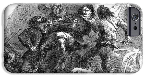 Kill Bill iPhone Cases - Wild Bill Hickok (1837-1876) iPhone Case by Granger