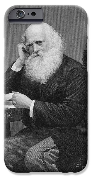 WILLIAM CULLEN BRYANT iPhone Case by Granger