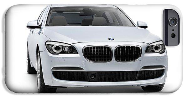New Individuals iPhone Cases - 2010 BMW 760Li Individual Luxury Sedan iPhone Case by Oleksiy Maksymenko