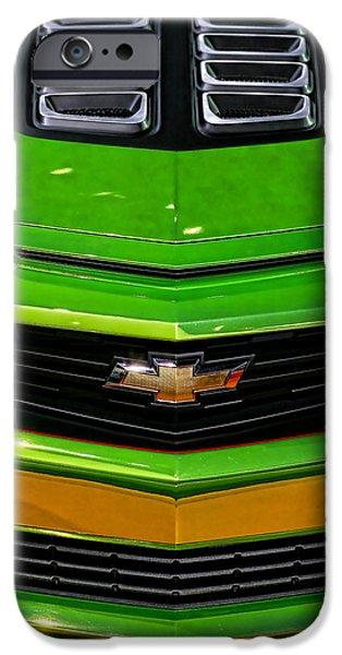 Racetrack Digital Art iPhone Cases - 2012 Chevy Camaro Hot Wheels Concept iPhone Case by Gordon Dean II