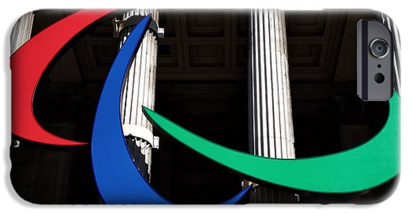 National Gallery Art iPhone Cases - 2012 Paralympics iPhone Case by John Rizzuto