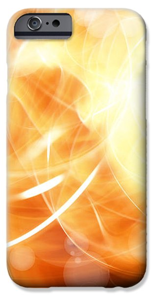Abstract background iPhone Case by Les Cunliffe