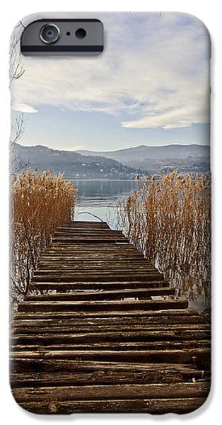 Lake Maggiore iPhone Case by Joana Kruse