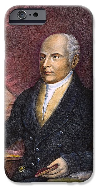 JOHN QUINCY ADAMS iPhone Case by Granger