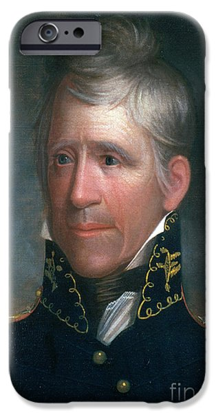Andrew Jackson, 7th American President iPhone Case by Photo Researchers