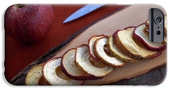 Chip iPhone Cases - Apple Chips iPhone Case by Joana Kruse