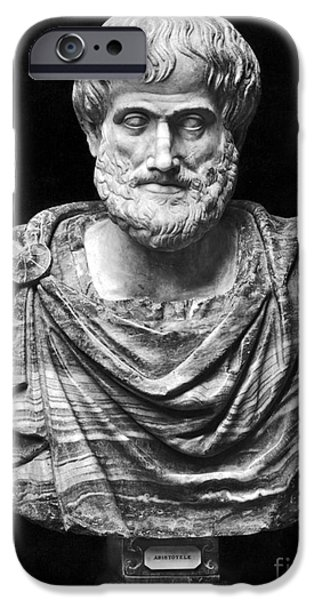 ARISTOTLE (384-322 B.C.) iPhone Case by Granger
