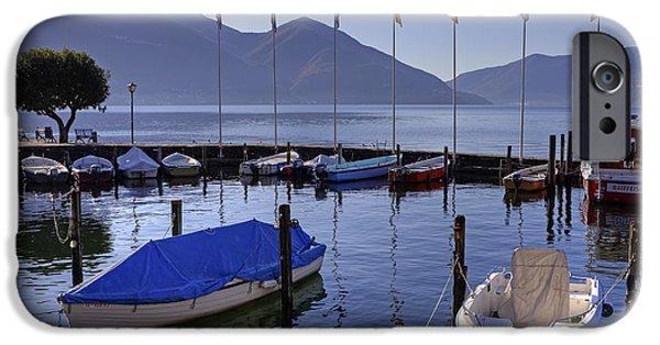Ascona iPhone Cases - Ascona iPhone Case by Joana Kruse