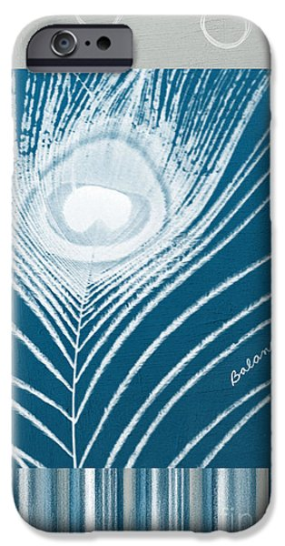 Feathered iPhone Cases - Balance iPhone Case by Linda Woods