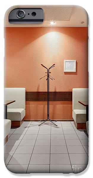 Cafe Dining Room iPhone Case by Magomed Magomedagaev