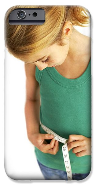 Eating Disorders iPhone Cases - Childhood Dieting iPhone Case by Ian Boddy