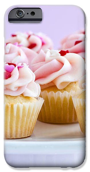 Cupcakes iPhone Case by Elena Elisseeva