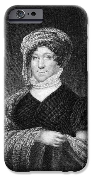 Dolley iPhone Cases - Dolley Madison (1768-1849) iPhone Case by Granger