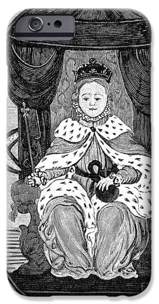 ELIZABETH I (1533-1603) iPhone Case by Granger