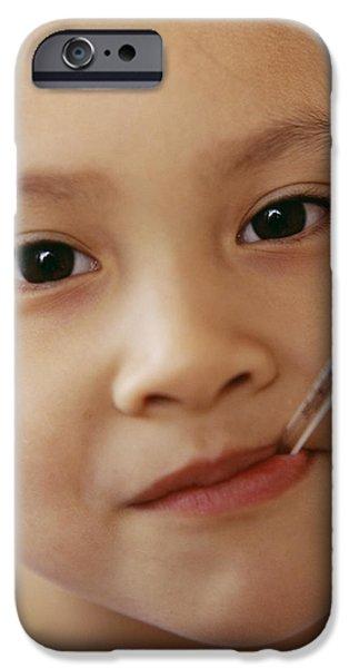 Feverish Child iPhone Case by Ian Boddy