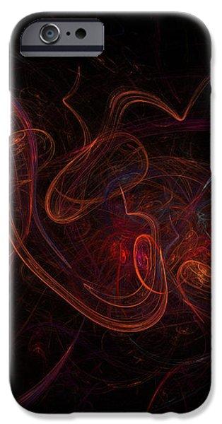Fractal iPhone Case by Henrik Lehnerer