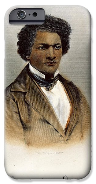 FREDERICK DOUGLASS iPhone Case by Granger