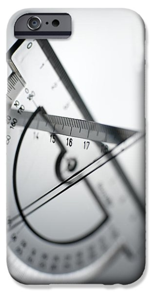 Geometry Set iPhone Case by Tek Image