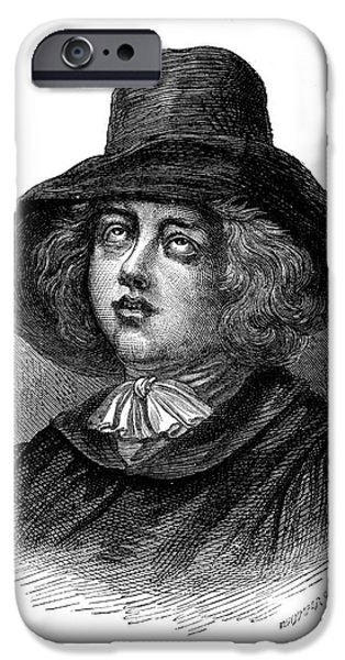 GEORGE FOX (1624-1691) iPhone Case by Granger