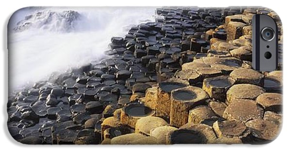 Strange iPhone Cases - Giants Causeway, Co Antrim, Ireland iPhone Case by The Irish Image Collection